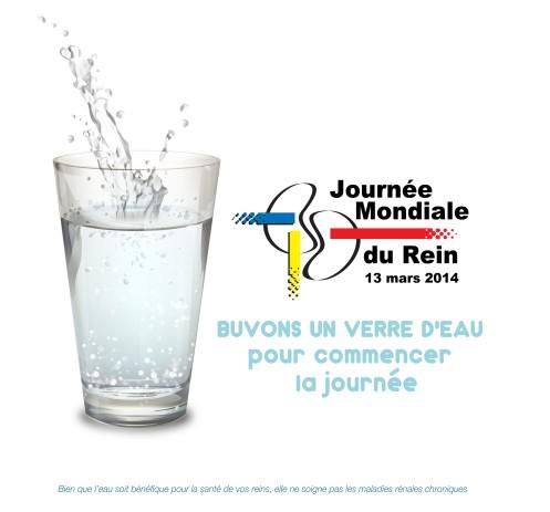 Boire un verre d'eau ne soignera pas vos reins, mais