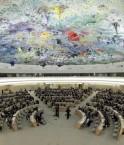 Le Conseil des Droits de l'homme des Nations Unies, à Genève.  © 2009 Reuters