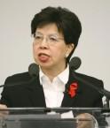 Margaret Chan (C) OMS
