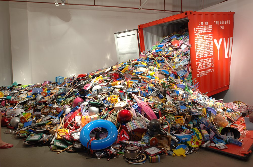 Liu JIANHUA, Yiwu Survey, installation, 2006