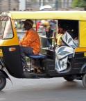 Un autorickshaw à Bangalore
