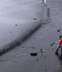 Marée noire en baie de Bohai.