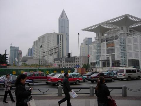 Mairie et centre d'urbanisme de Shanghaï.