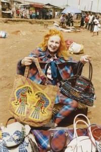 Vivienne Westwood à Nairobi.