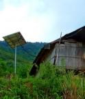 Case et panneau solaire. © Rabani HMA (trekearth.com)