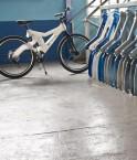 Vélo en plastique recyclé.