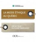 La mode éthique au Québec. © Observatoire de la Consommation Responsable