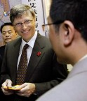 Bill Gates à Pékin. © Bill & Melinda Gates Foundation