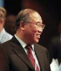 Xie Zhenhua, négociateur chinois. © epa