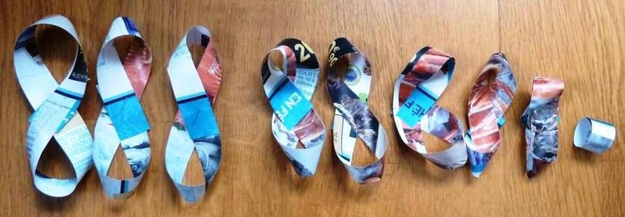 Boucles de papier. @ Christine Lacaze