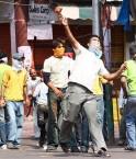 Des manifestations de plus en plus pressantes. © Jaipalsingh