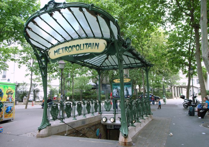 Station metro Abbesses Art Nouveau